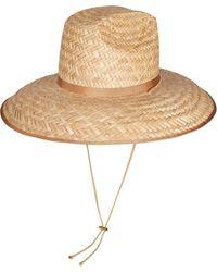 Gucci Wide Brim Hat - Natural