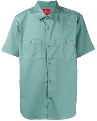 Supreme Michael Jackson Work Shirt - Green