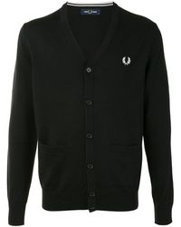 Fred Perry - ロゴ カーディガン - Lyst