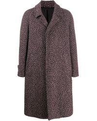 Ferragamo Однобортное Пальто - Многоцветный