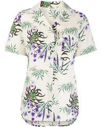KENZO Floral-print Shirt - Multicolour