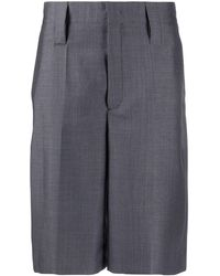 Prada Tailored Bermuda Shorts - Grey