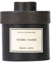 Mad Et Len Terre Noire 300g Soy Wax Candle - Black