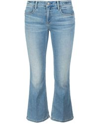 Alexander Wang Cropped Jeans - Blue
