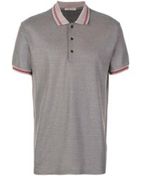 Bottega Veneta - Piquet Polo Shirt - Lyst