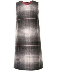 Paule Ka - グラデーション チェック ドレス - Lyst