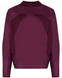 Asics X Kiko Kostadinov Burgundy Long Sleeve Top - Purple