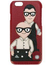 Dolce & Gabbana パッチ装飾 Iphone 6 ケース - マルチカラー