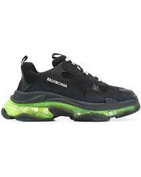 Balenciaga - Triple S Sneakers Met Doorzichtige Zool - Lyst