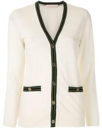 Tory Burch - Color-block Madeline Cardigan - Lyst