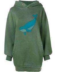 Balenciaga - Exclusivo para Farfetch - sudadera con ballena y capucha - Lyst
