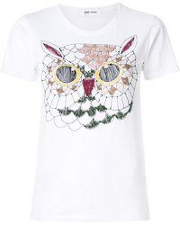 Jimi Roos - Owl T-shirt - Lyst