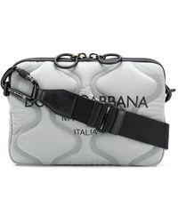 Dolce & Gabbana Дутая Сумка На Плечо - Серый