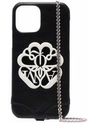 Alexander McQueen ロゴ Iphone 12 ケース - ブラック