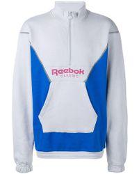 Reebok - Jersey en colour block - Lyst