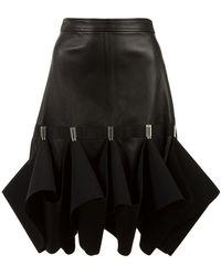 Dion Lee - Hook Ruffle Detail Skirt - Lyst