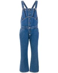 M.i.h Jeans Tribe Dungarees - Blue