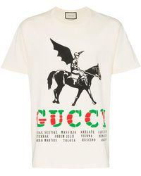 bb2ceab93044 Men's Gucci T-shirts - Lyst