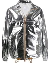 Burberry - Jacke im Metallic-Look - Lyst