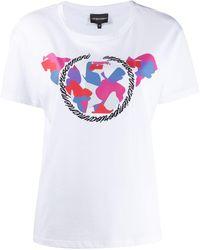 Emporio Armani - グラフィック Tシャツ - Lyst