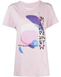 Isabel Marant - アブストラクトパターン Tシャツ - Lyst