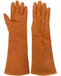 P.A.R.O.S.H. Three-quarter Length Gloves - Orange