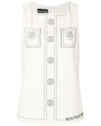 Moschino - Shirt Print Blouse - Lyst