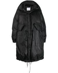 Sacai ダウンコート - ブラック