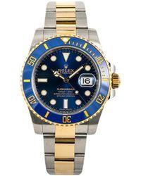Rolex Наручные Часы Submariner 40 Мм 2016-го Года - Синий
