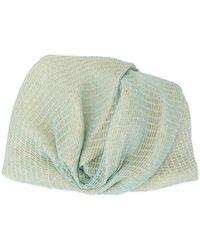Missoni Drapierter Turban - Blau