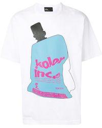 Kolor グラフィック Tシャツ - ホワイト