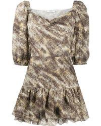 Marysia Swim - Фактурное Платье С Абстрактным Принтом - Lyst