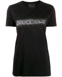 John Richmond ロゴ Tシャツ - ブラック