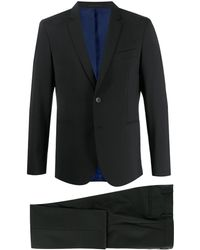PS by Paul Smith Tailored Two-piece Suit - Black