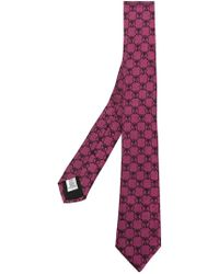 Moschino - Jacquard Logo Tie - Lyst