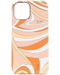 Emilio Pucci Vortici プリント Iphone 11 ケース - オレンジ