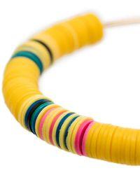 ALLTHEMUST Серьги-кольца Heishi 8 - Желтый
