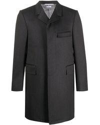 Thom Browne ツイルコート - グレー