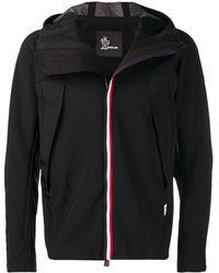 3 MONCLER GRENOBLE Легкая Куртка На Молнии - Черный