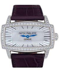 Patek Philippe 2014 Pre-owned Gondolo Gemma 37mm - White