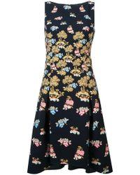Peter Pilotto - Fig Tree Print Midi Dress - Lyst
