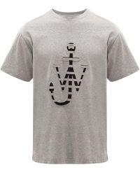 JW Anderson ロゴ Tシャツ - グレー