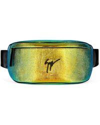 Giuseppe Zanotti Logo Zipped Belt Bag - Orange