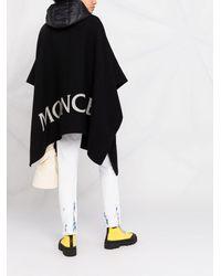 Moncler Пончо Cloak - Черный