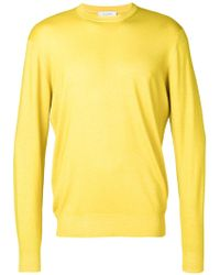 Cruciani | Long-sleeve Fitted Sweater | Lyst