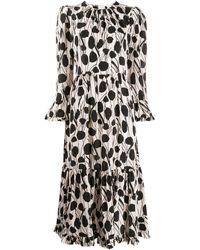 LaDoubleJ Visconti ドレス - ホワイト