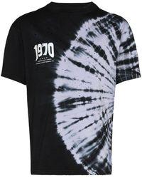 Satisfy X 50 Years 1970 タイダイ Tシャツ - ブラック