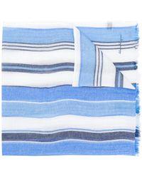 Ferragamo - Striped Scarf - Lyst