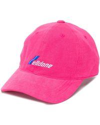 we11done Baseballkappe mit Logo-Stickerei - Pink