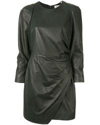 A.L.C. Lana ドレープ ドレス - グリーン